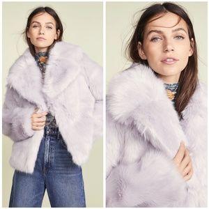 A.L.C. Grant Faux Fur Retro Winter Jacket Coat HTF